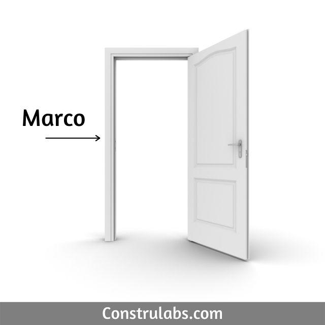 Marco de una puerta