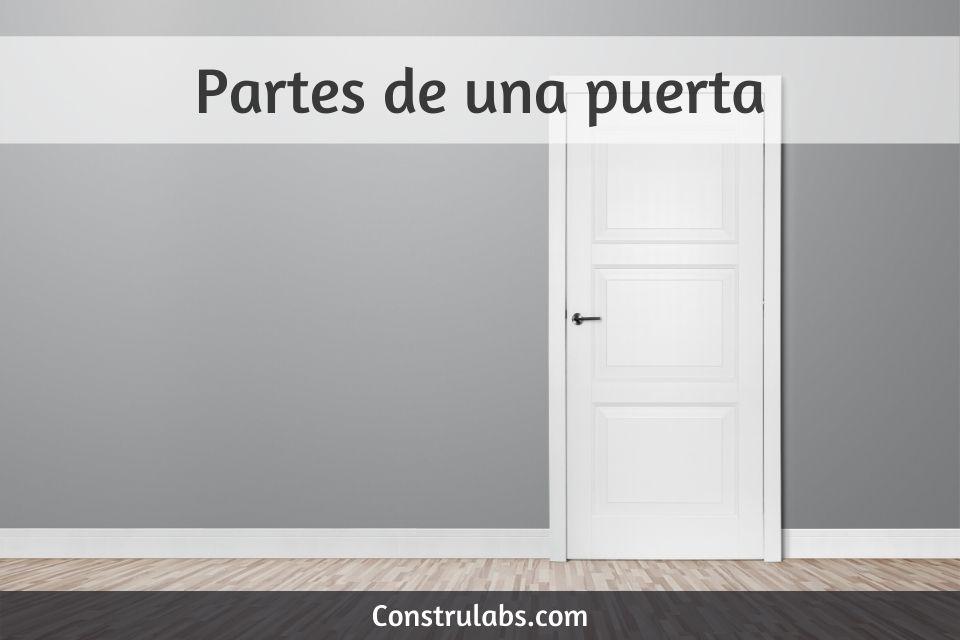 Partes de una puerta