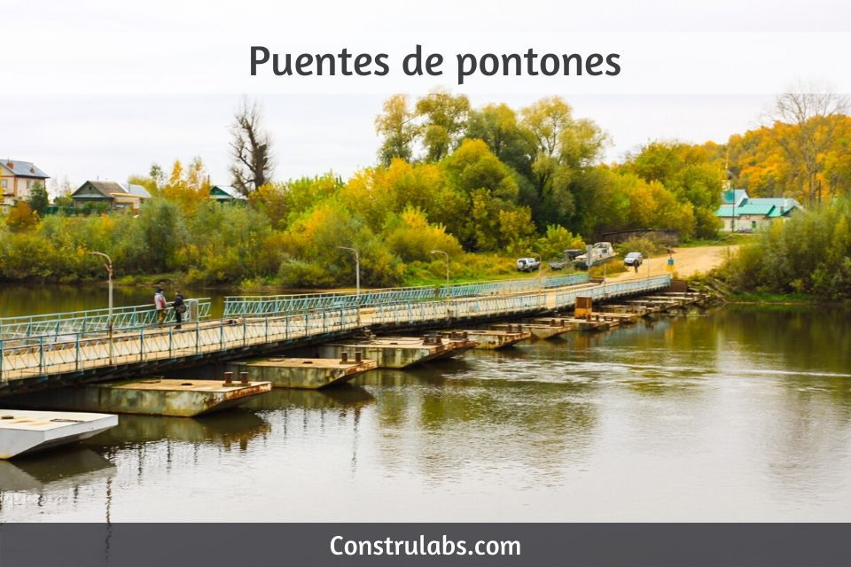 Puentes de pontones