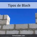 Tipos de block