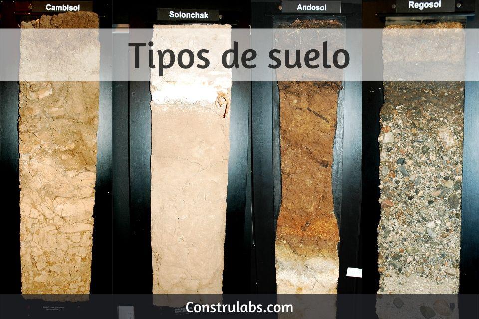 Tipos de suelo