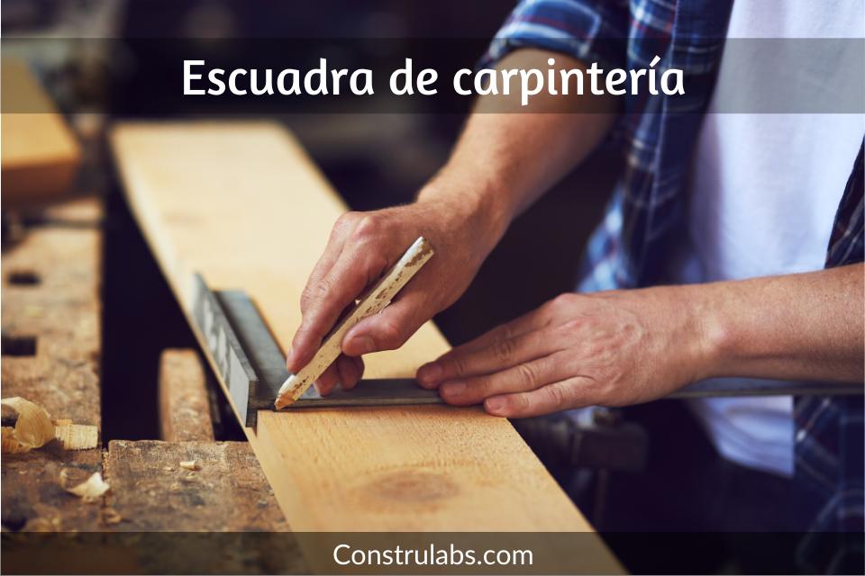 escuadra de carpinteria