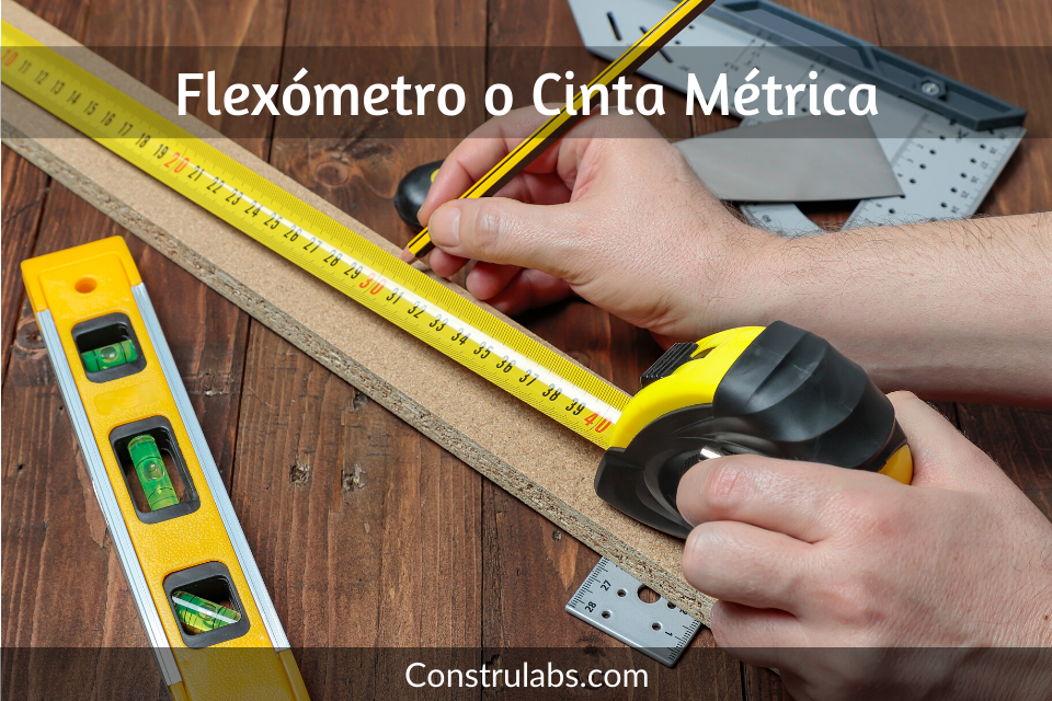 flexometro o cinta metrica