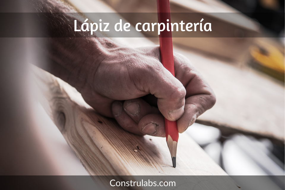 lapiz de carpinteria