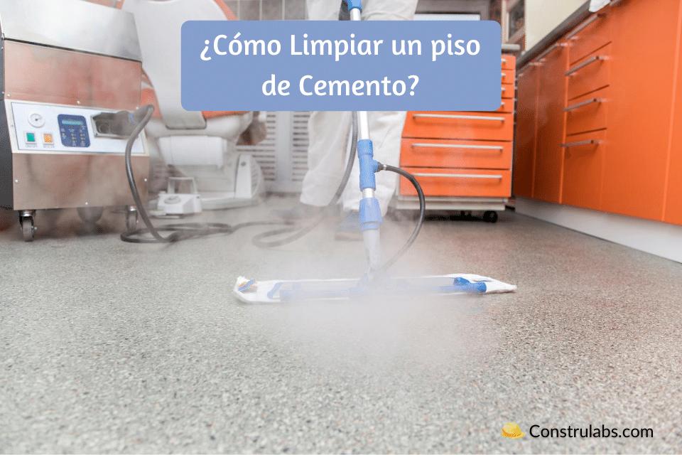 Cómo Limpiar un piso de Cemento